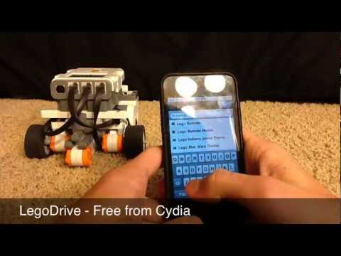 Controlling a Lego NXT from an iPod Touch