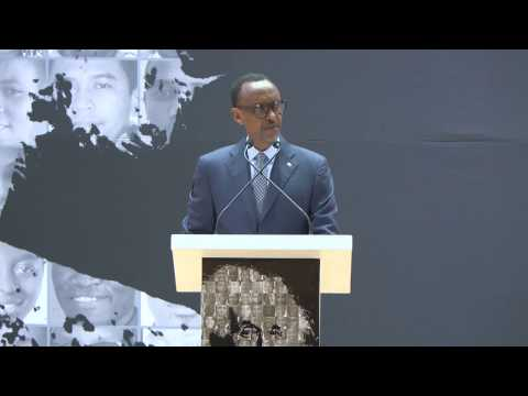 President Kagame speaks at the Launch of the African Institute for Mathematical Sciences (AIMS)