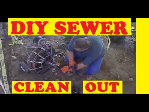 How to Clean Tree Roots out of your sewer line safely