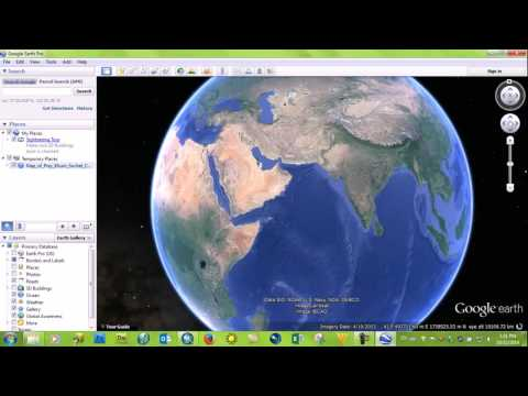 3 Convert file from Indian60 to WGS84 - create map with Arcgis - learning center