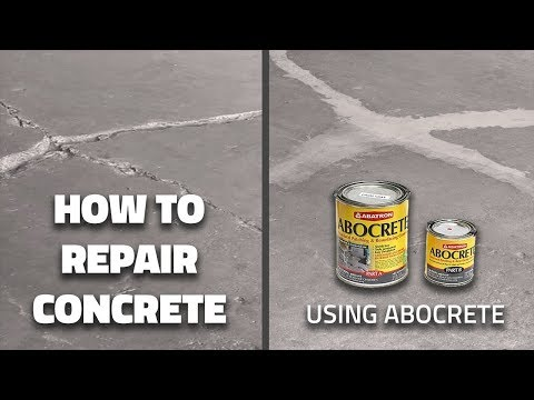 How To Repair Concrete using Abocrete - Quick Tips from Tiff #7