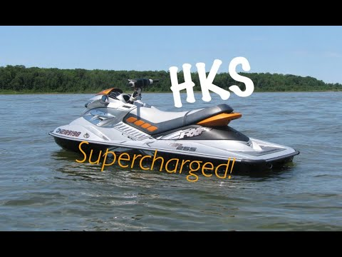 Seadoo RXP X 255 with HKS ssqv BOV blow off valve
