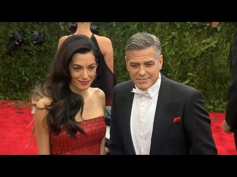 George, Amal Clooney Highlight Syrian Refugee Crisis
