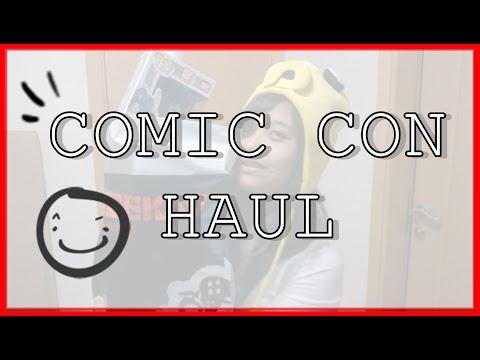 COMIC CON HAUL! #MEFCC