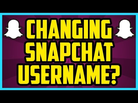 Can I CHANGE My Snapchat Username? 2017 - How To Change Your Snapchat Username Discussion iOS