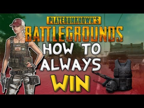 HOW TO ALWAYS WIN BATTLEGROUNDS // 100% every time !!!