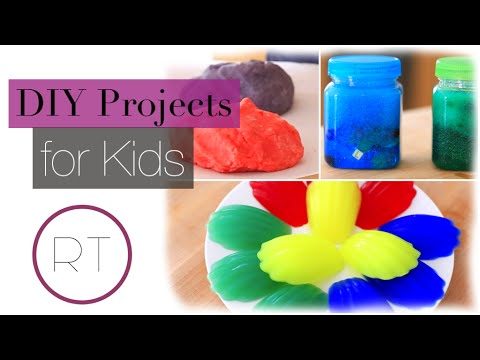 Fun DIY Projects For KIDS