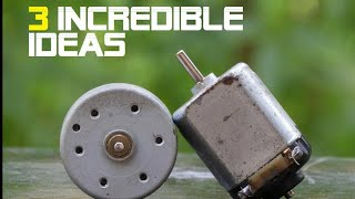 3 incredible ideas from electric motor