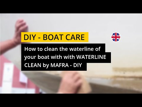 Waterline Clean by MA-FRA - To clean the waterline of your boat