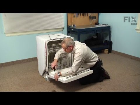 Whirlpool Dishwasher Repair – How to replace the Detergent and Rinse Aid Dispenser