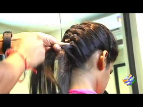 How to do a simple Classic French Braid