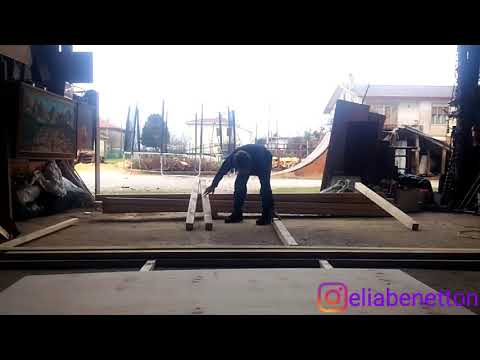 Building Amazing Skate Ramp into an Old Shed