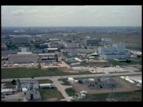 Johnson Space Center and Downtown Houston, Texas Aerials