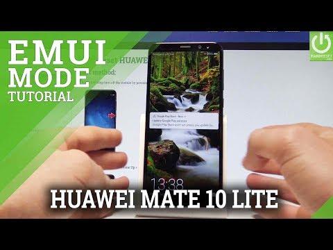 EMUI Mode HUAWEI Mate 10 Lite - HUAWEI Recovery Menu