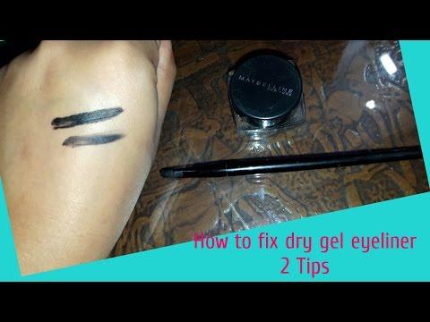 How To Fix Dry Gel Eyeliner in 5 Min/ Easy 2 Tips