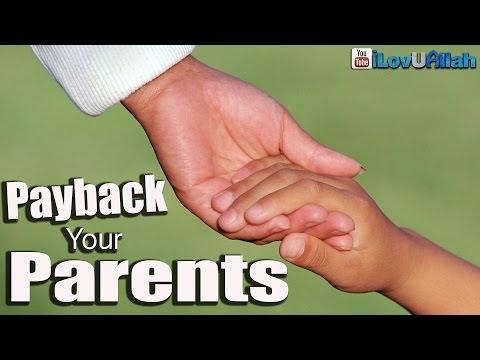 Payback Your Parents ᴴᴰ | Shaykh Hamza Yusuf