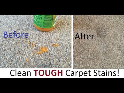 How to clean Tough carpets Stains Baby food wine dirty marks Within 1 MIN or 5 MIN!