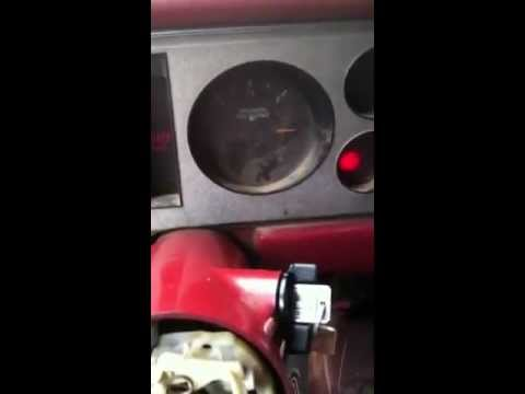 1985 Chevy s10 Blazer: new ignition switch