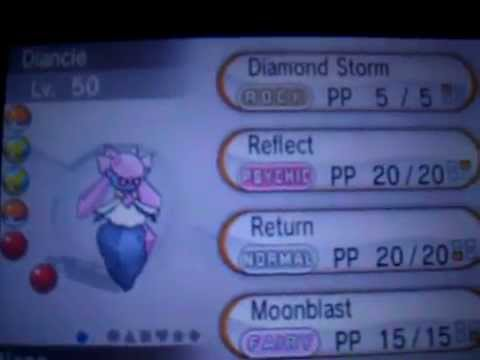 DIANCIE BACK UP ON POWERSAVES v1.19! (18/07/2014)