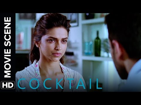 Deepika tries to get Saif back | Cocktail | Movie Scene