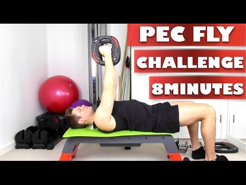 Toned Pecs in 8 minute | Chest Fly Home workout