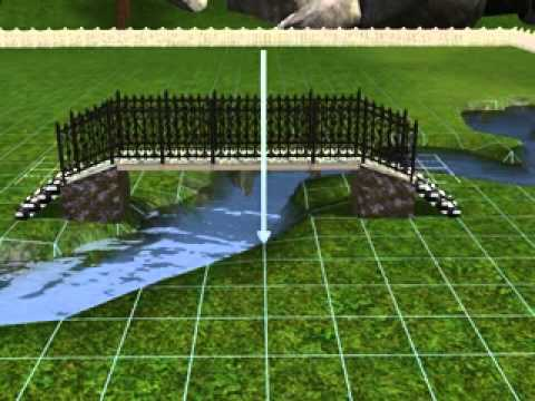 The Sims 3 speed build : witch's cottage  with bridge
