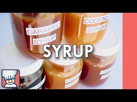 How to make syrup