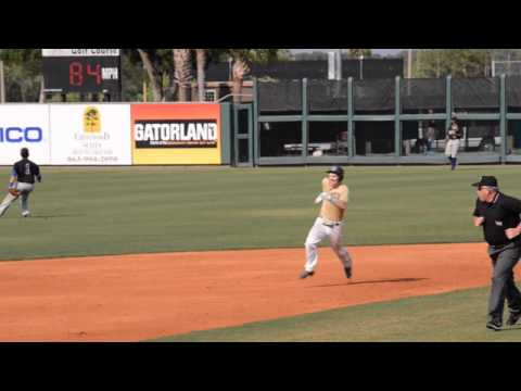 Danny Mars - Chipola Baseball Playoffs - 3 for 4 triple, Double, Single