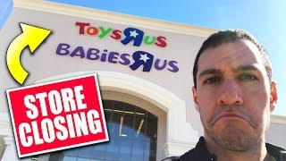 MY TOYS R US IS CLOSING FOREVER! - Pokemon Opening! - HYPER RARE CHARIZARD WHERE YOU AT?!