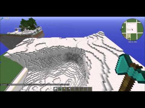 World edit tutorial - Brush Sphere Terraforming