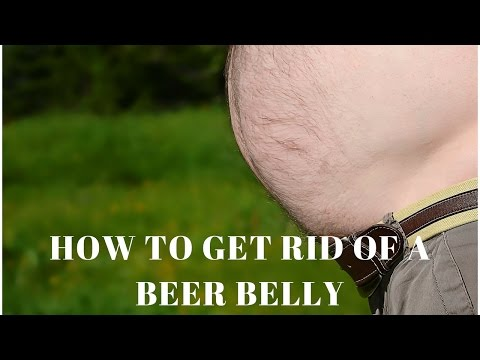 How to Get Rid of a Beer Belly