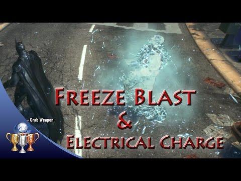 Batman Arkham Knight [Hidden Secret Gadgets] Freeze Blast & Remote Electrical Charge Locations