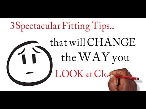 Sewing Tutorial | 3 Spectacular Fitting Tips that will CHANGE the Way You Look At Clothing