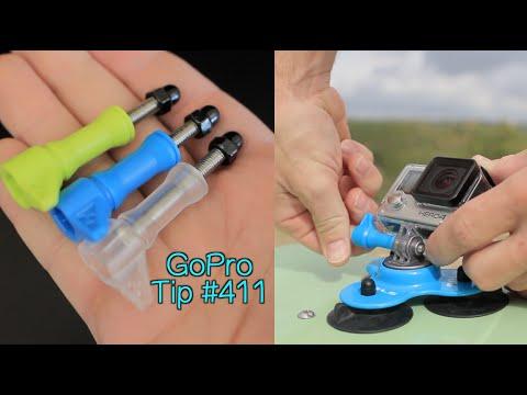 Hi-Torque Thumbscrew Pack Review - MicBergsma.tv - GoPro Tip #411