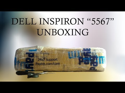Dell Inspiron 5567 Laptop Unboxing | Trending India