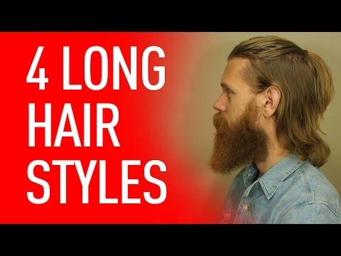 Four ways to wear long hair | Eric Bandholz