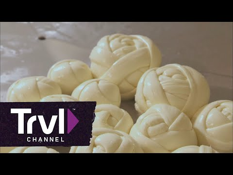 Bizarre Foods: Andrew Zimmern Makes Oaxacan String Cheese in Mexico