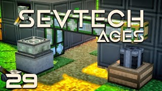 SevTech Ages EP22 Modular Machines Chemical Mixer +