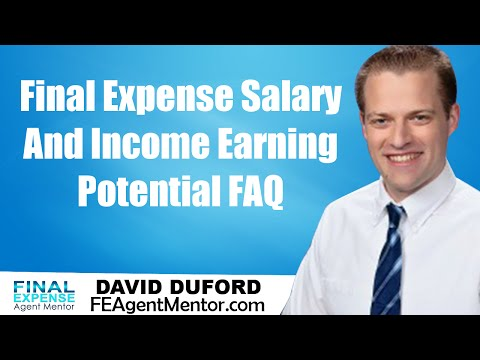 Final Expense Insurance Agent Salary - Basic Money Making Opportunity Answered!