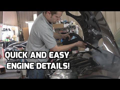 Steam Cleaning a FILTHY Engine!   Dupray Carmen Super Inox