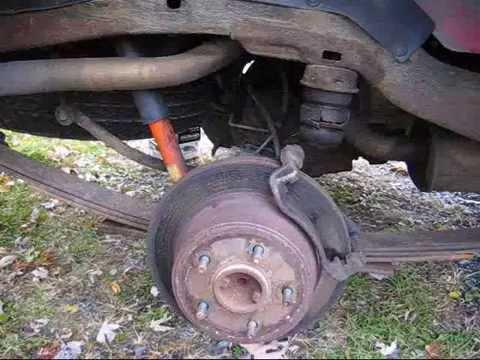 Brake Pad Installation 2000 Chevy Blazer PT 2