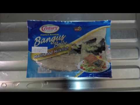 How to fry bangus