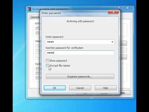 How To set a Password on a Folder | Windows 7 | XP | VISTA