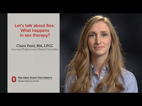 What happens in sex therapy? | Ohio State Medical Center