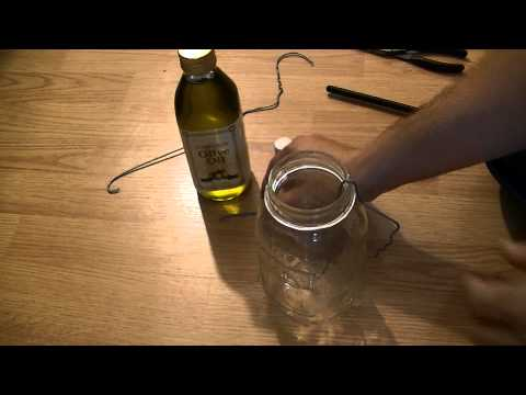 How To Make a Simple Oil Lamp