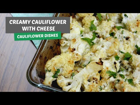Creamy Cauliflower with cheese | Cauliflower dishes #4