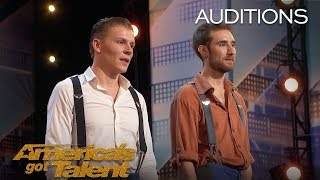 Jules & Jerome: Duo Flies Dangerously High Above Stage - America