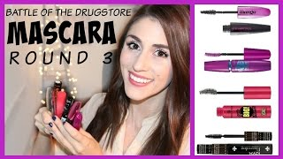 Battle of the Drugstore Mascara: Round 3