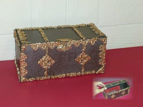 How to make a Treasure Chest with Storage