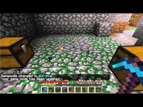 Minecraft How To Craft A Mob Spawner!!!!